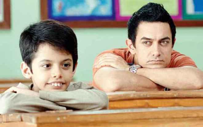 Aamir at Taare zameen par