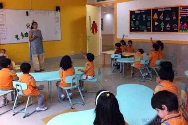gd goenka public school sector 48 classroom 2