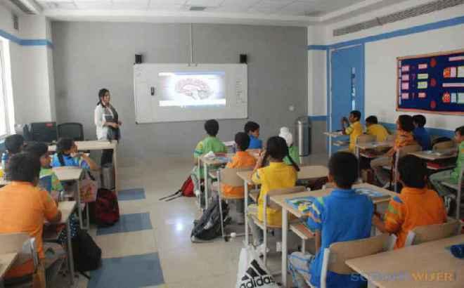 gd goenka public school sector 48 classroom 3