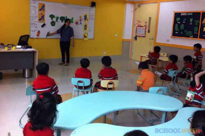 gd goenka public school sector 48 classroom
