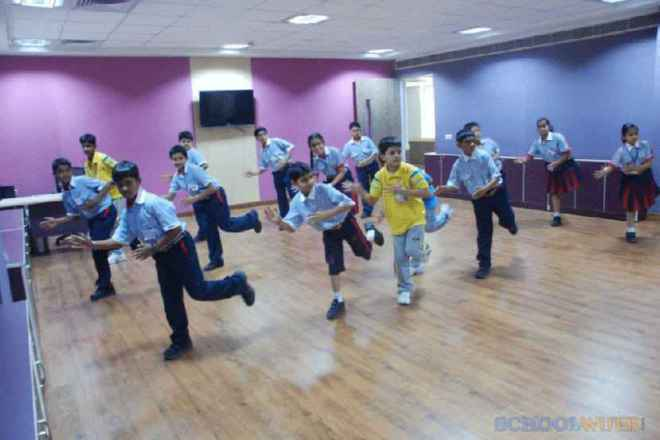 gd goenka public school sector 48 dance studio 2
