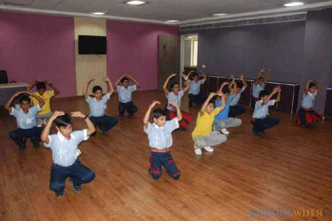 gd goenka public school sector 48 dance studio