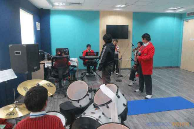 gd goenka public school sector 48 gurgaon gdgps music studio