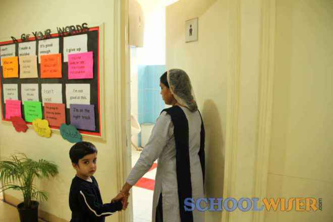 lancers startup nursery daycare school sector 48 gurgaon toilet