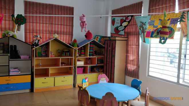 apple blossom early learning  day care centre sector 46 school classroom image ZRk03vNyBO57inK
