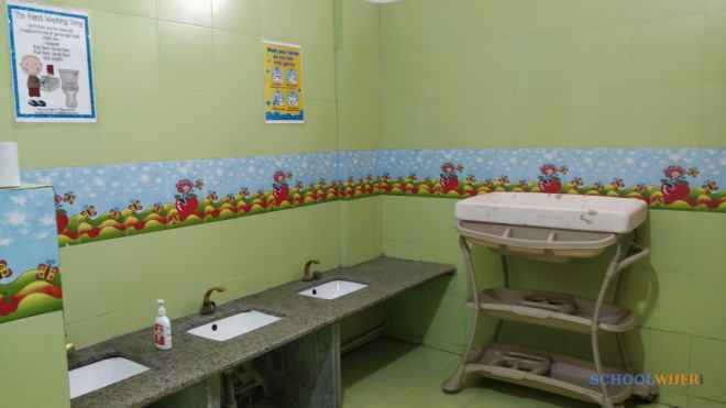 apple blossom early learning  day care centre sector 46 school toilets image bck3lqIX9uxy9s9