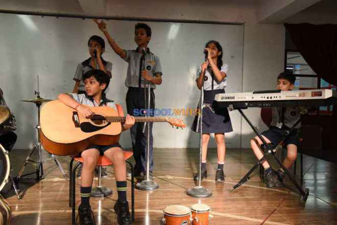 shalom presidency school gurgaon budding musicians