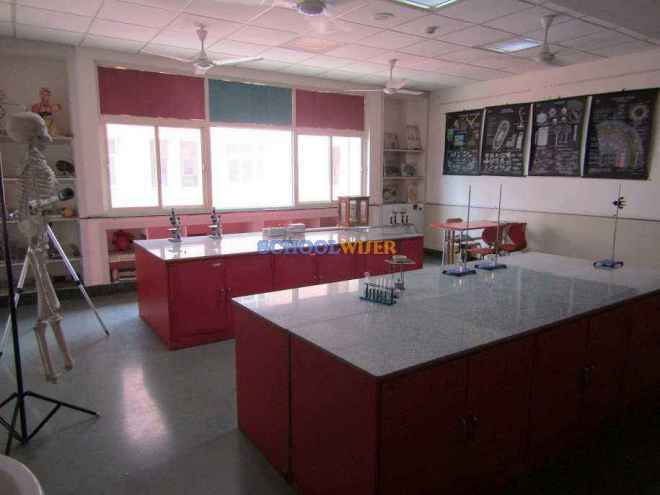 shalom presidency school gurgaon science lab