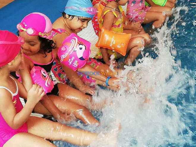 shalom presidency school gurgaon swimming coaching
