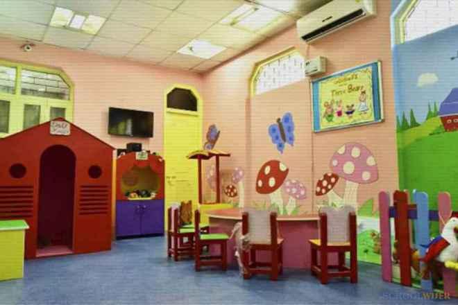 shemrock happy faces playschool sector 47 gurgaon classroom 2