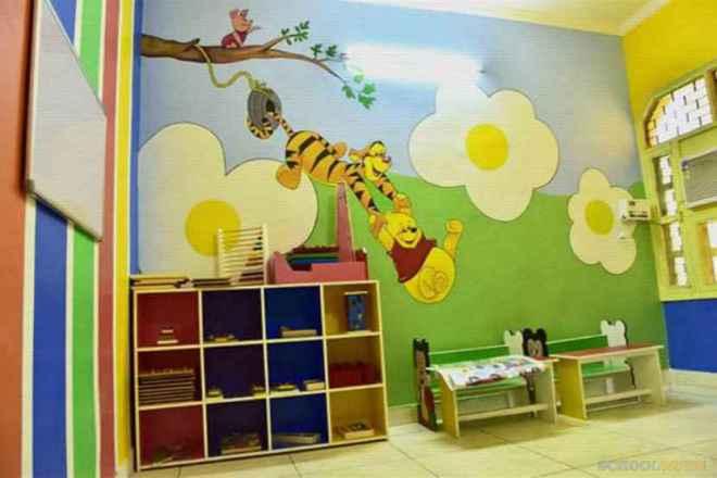 shemrock happy faces playschool sector 47 gurgaon classroom