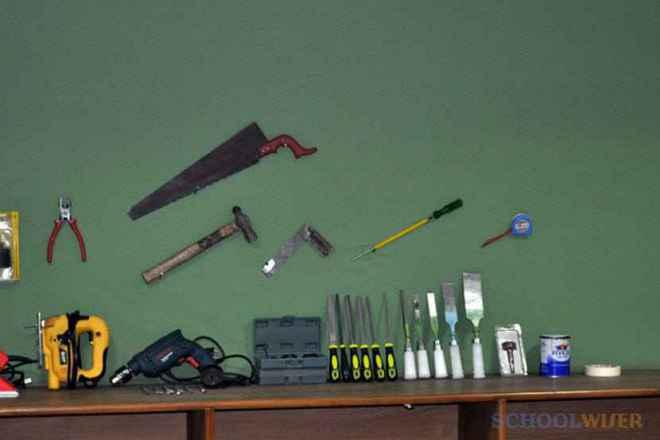 the paras world school india gurgaon activity room instruments
