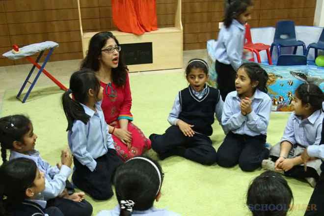 the paras world school india gurgaon activity room