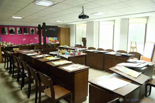 the paras world school india gurgaon audio video room