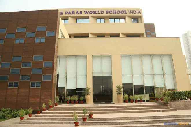 the paras world school india gurgaon cover image