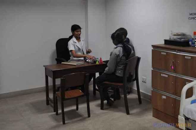 the paras world school india gurgaon infirmary 2