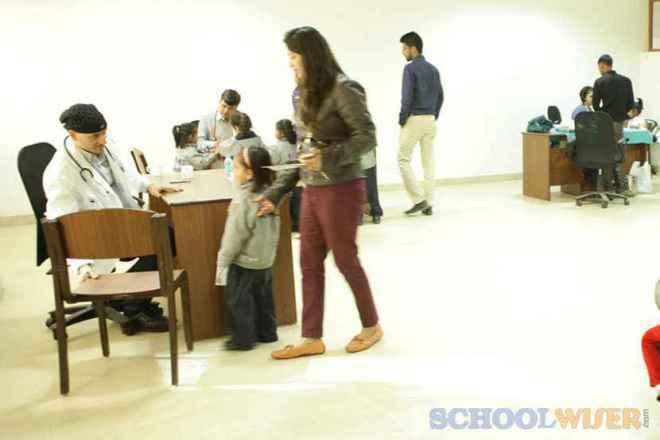 the paras world school india gurgaon infirmary