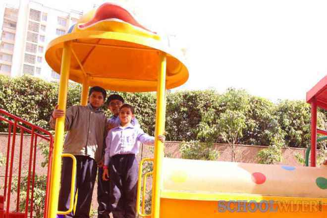 the paras world school india gurgaon outdoor play area