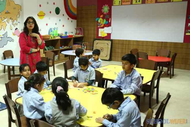 the paras world school india gurgaon play room 2