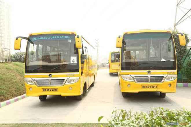 the paras world school india gurgaon transport image 2